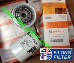 FILONG Manufactory For SDF Parts  Oil filter  24419340010 2.4419.340.0/10