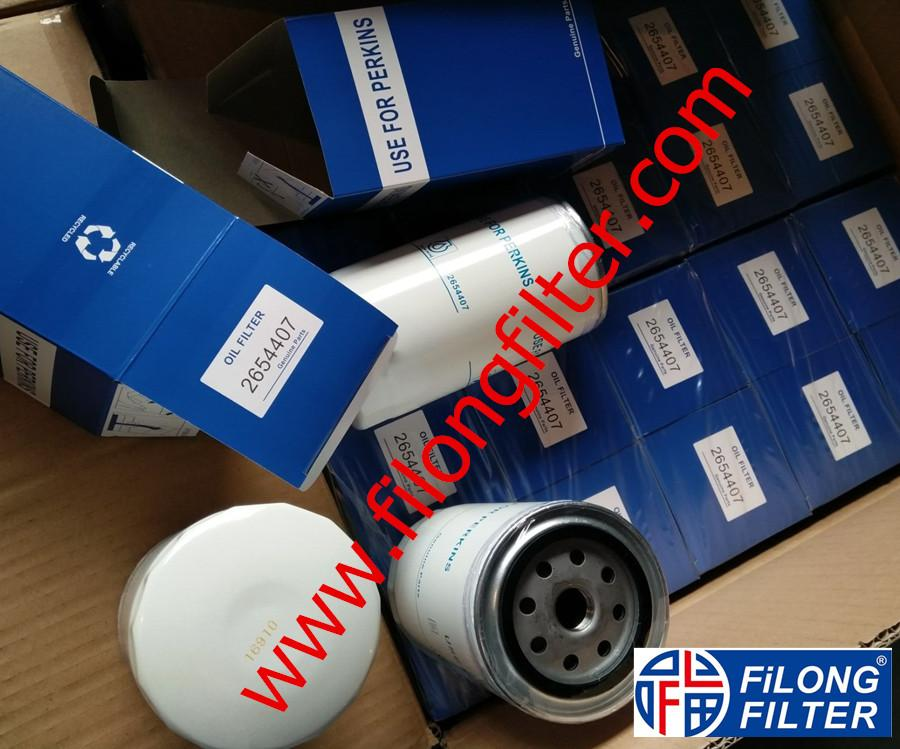 FILONG Manufactory For PERKINS Oil filter 2654407