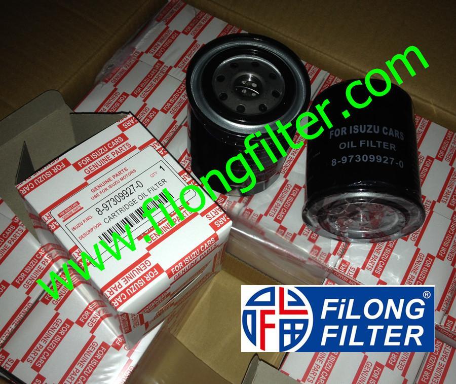 FILONG Manufactory For ISUZU Oil filter 8-97309927-0 8973099270 897309927-0