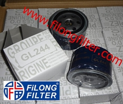 FILONG Manufactory For GIF Oil filter GL244