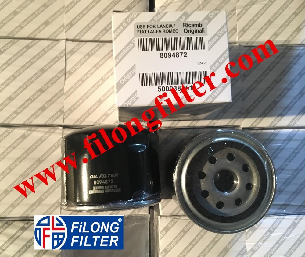 FILONG Manufactory For FIAT Oil filter 8094872 W914/28 PH10268 OP592/8  5801985959, 68094311AA, 71779555, 8094872 2995811, 500038751, 504091563  OP592/8 PH10268 OC570, OC616 SM5084
