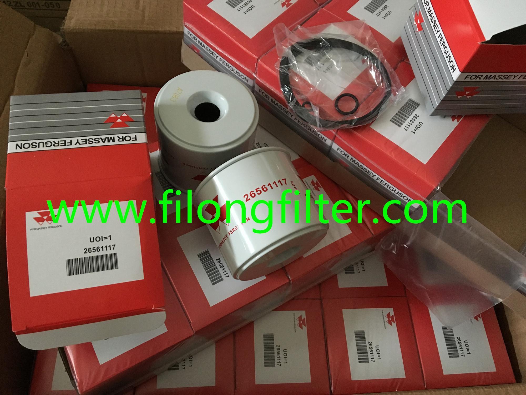 FILONG Manufactory For Mitsubishi Oil filter FOR MASSEY FERGUSON 26561117