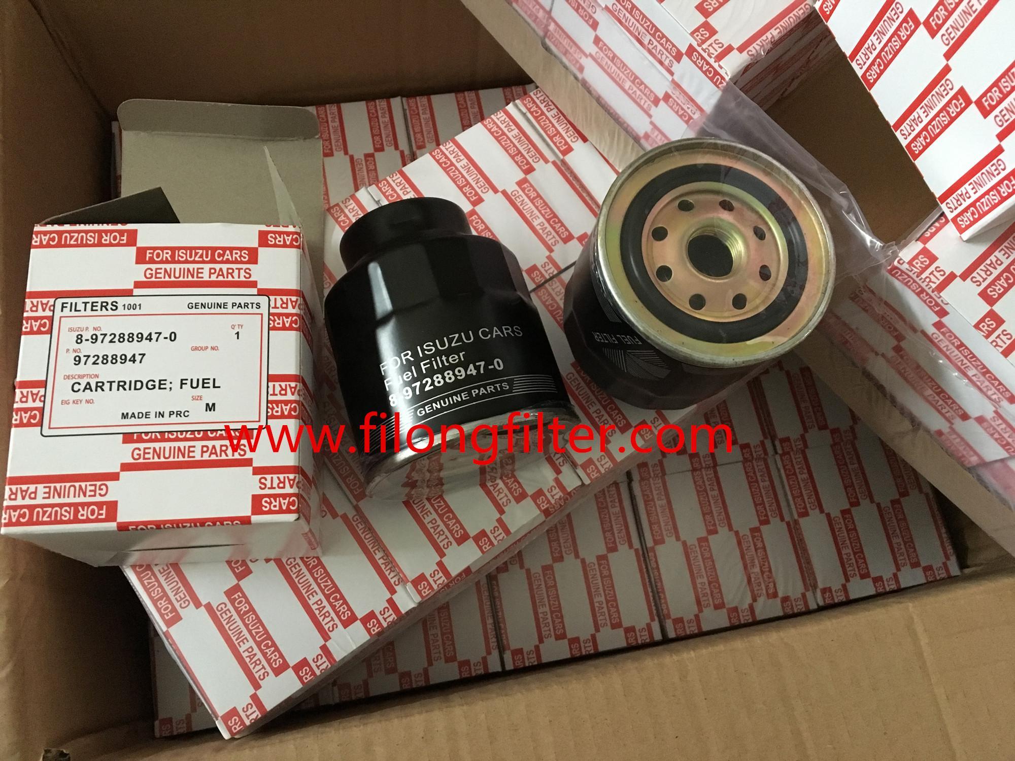 FILONG manufacturer for ISUZU Fuel Filter 8-97288947-0 8972889470 97288947
