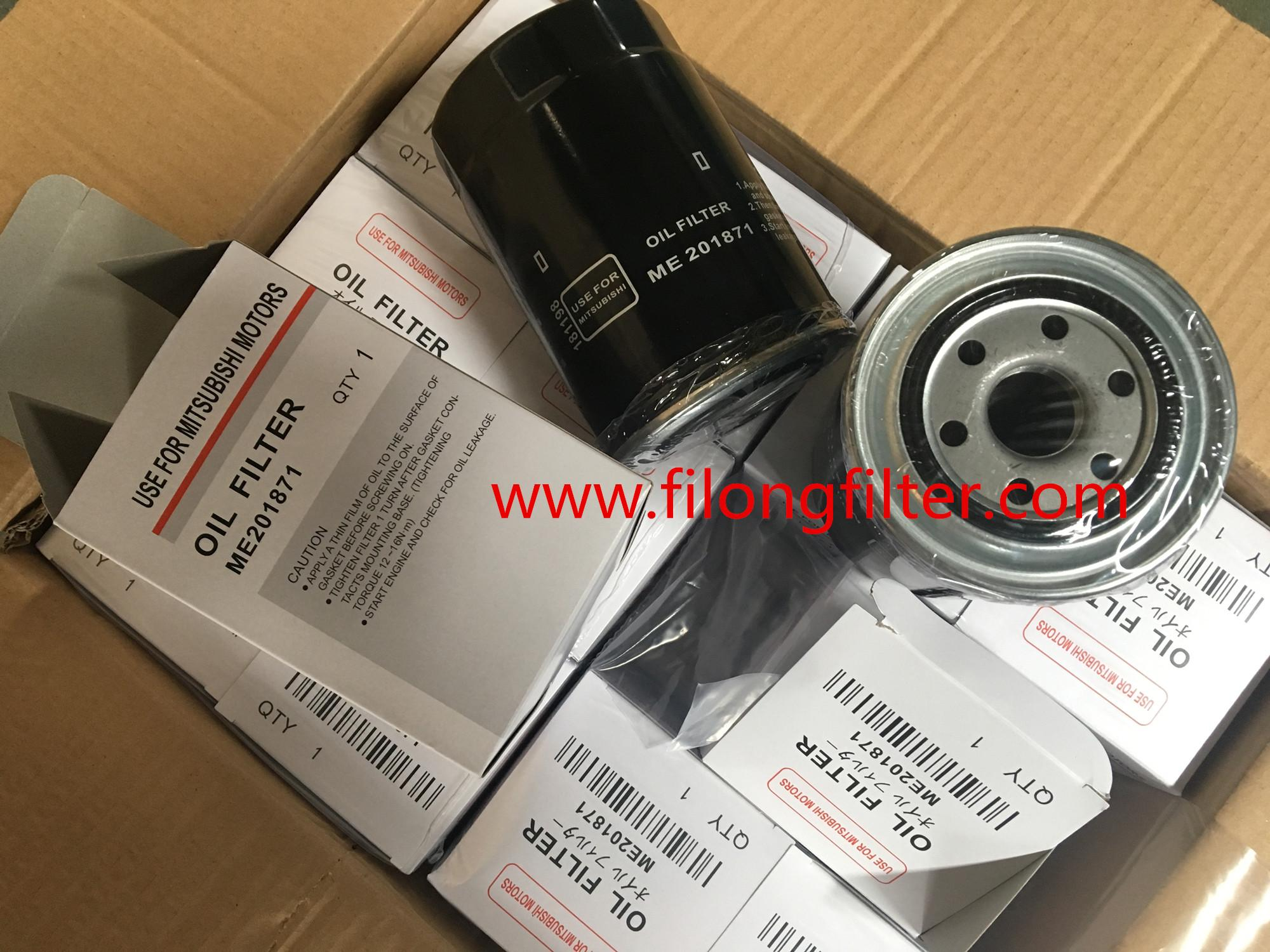 FILONG Manufactory For Mitsubishi Oil filter 1230A046, ME013307, ME013307V, ME013343, ME202472, ME215002,ME201871 PH5529, PH5586  H96W03 WP1045  OC297 LS911 SK810