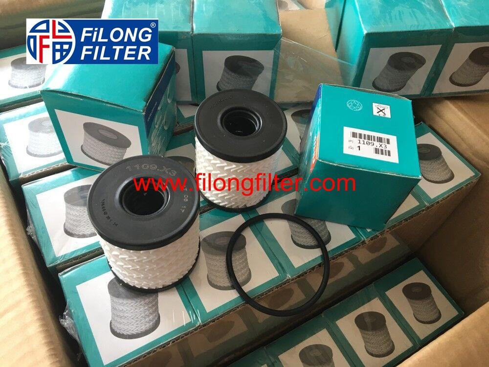 FILONG Manufactory For PEUGEOT Oil filter HU711/51x 1109X3 1109AH 1109CK 1109CL