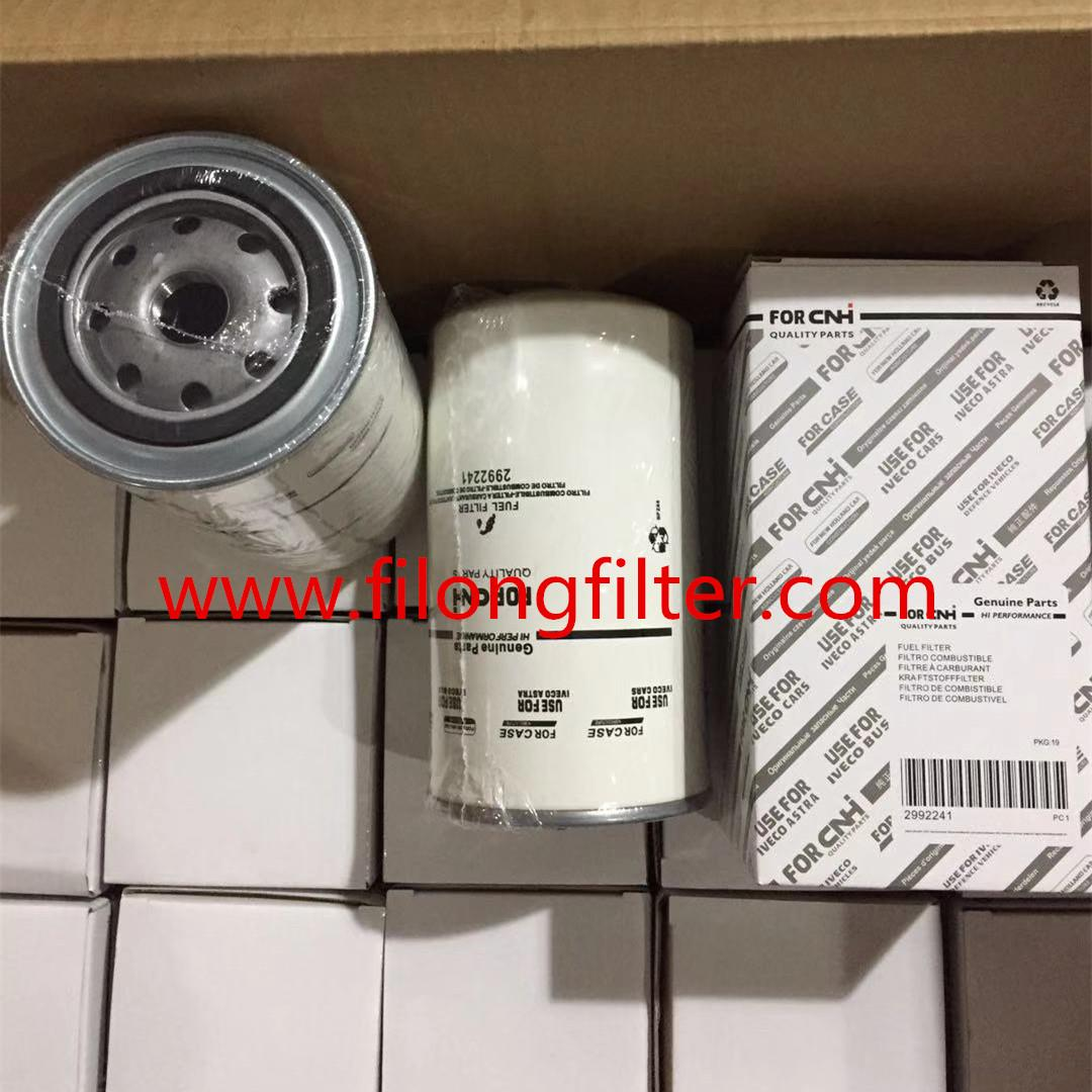 FILONG Manufactory For CNH New HOLLAND & IVECO Oil filter 2992241 504033400  4897833,4894548 6754-79-6140,6754-71-6130,6754-79-6130,6754-71-6140 16400-LA40A DN1962 P550881,P558000 PP861/6  FF5485 P9454,P9697 WK950/20,WK950/21 ST6094