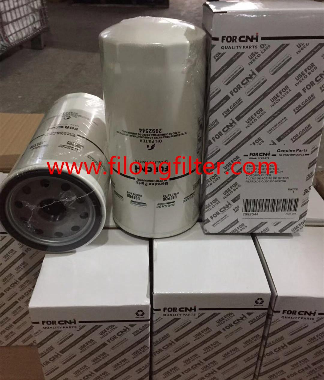 FILONG Manufactory For CNH New HOLLAND & IVECO Oil filter 504026056,99445200,2992544 1931099  5001863139 H230W  W1170/7