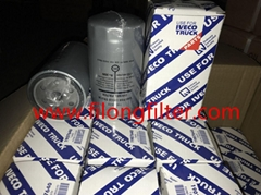 FILONG Manufactory Supplier For IVECO Truck Fuel filter 1160243, 1902134, 1908312, 1930820, 42074972, 4764693, 61142392, 8123679 P4102,P4506,P4516  WK7122,WK721,WK723,WK731,WK8003