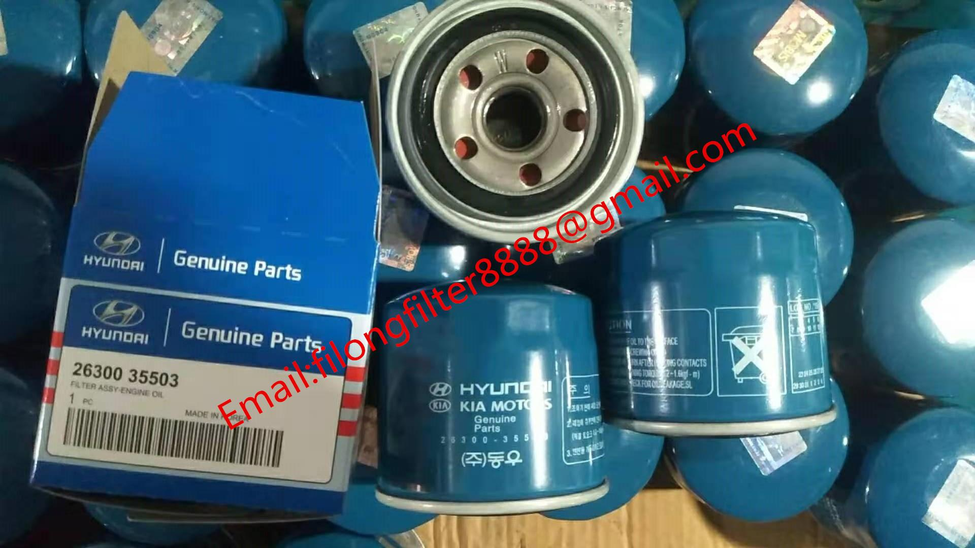 Genuine Kia/HYUNDAI Spin Off oil filter OEM 26300-35503  2630035503 2630035500