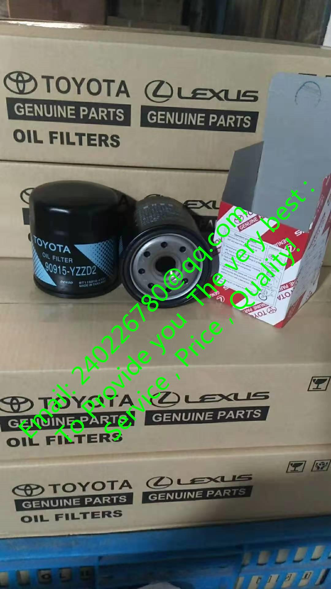 FOR TOYOTA Camry Oil Filter 90915-YZZD2 90915-TB001 90915-20001 90915-03002 TOYOTA  Corolla  Oil filter , TOYOTA  Crown Oil filter,TOYOTA Hiace Oil filter ,TOYOTA  Hilux Oil filter, TOYOTA  Highlander Oil filter