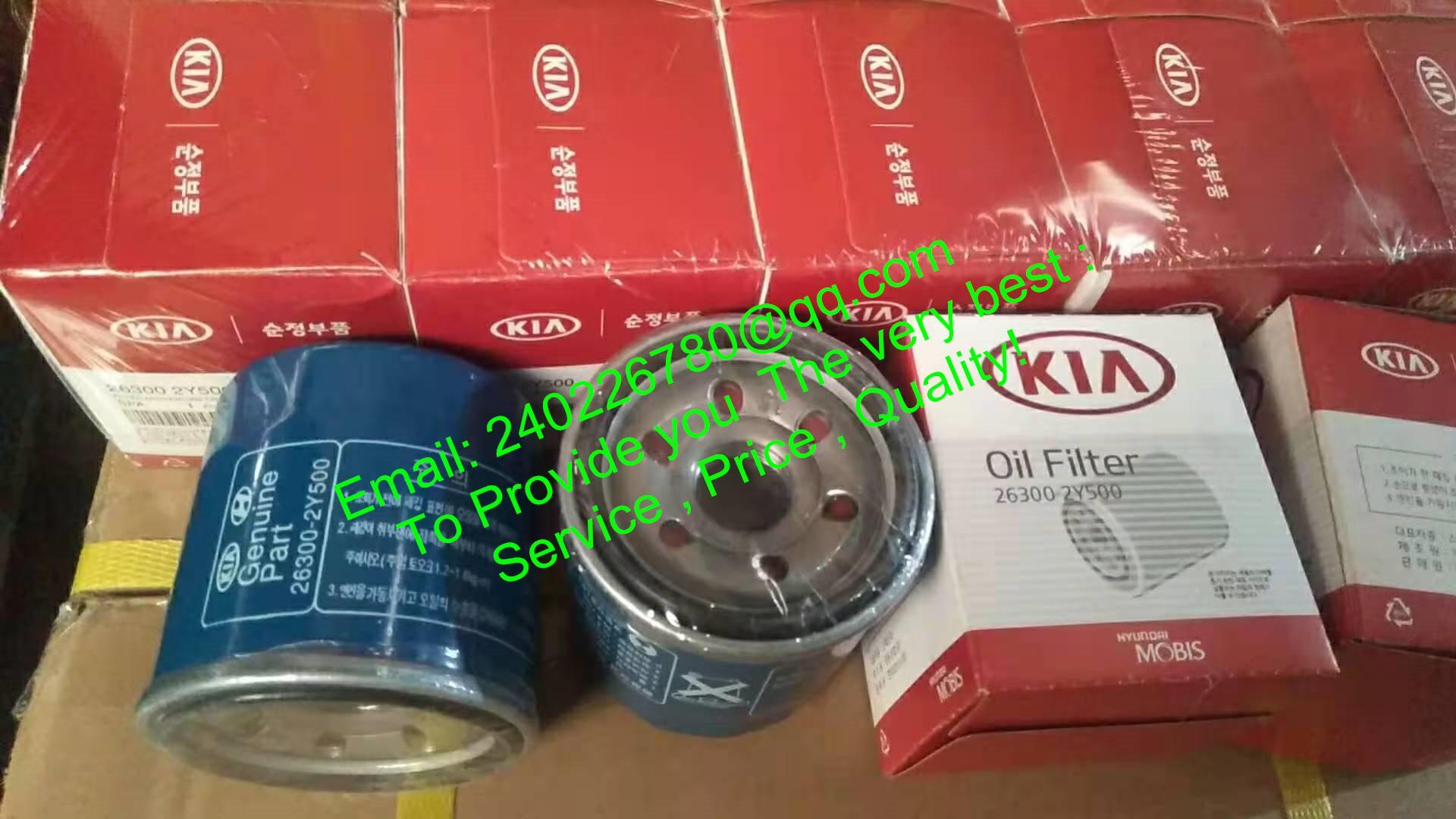 For Hyundai For KIA Oil Filter for Santro 26300-2Y500 263002Y500 26300-02500