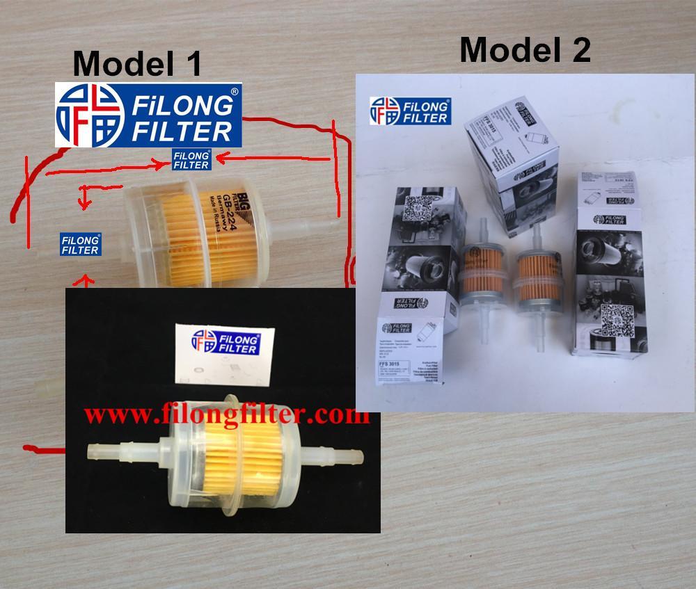 FILONG manufacturer Plastic Fuel Filter GB 224 FFS-3015A GB224 GB-224 BIG FILTER