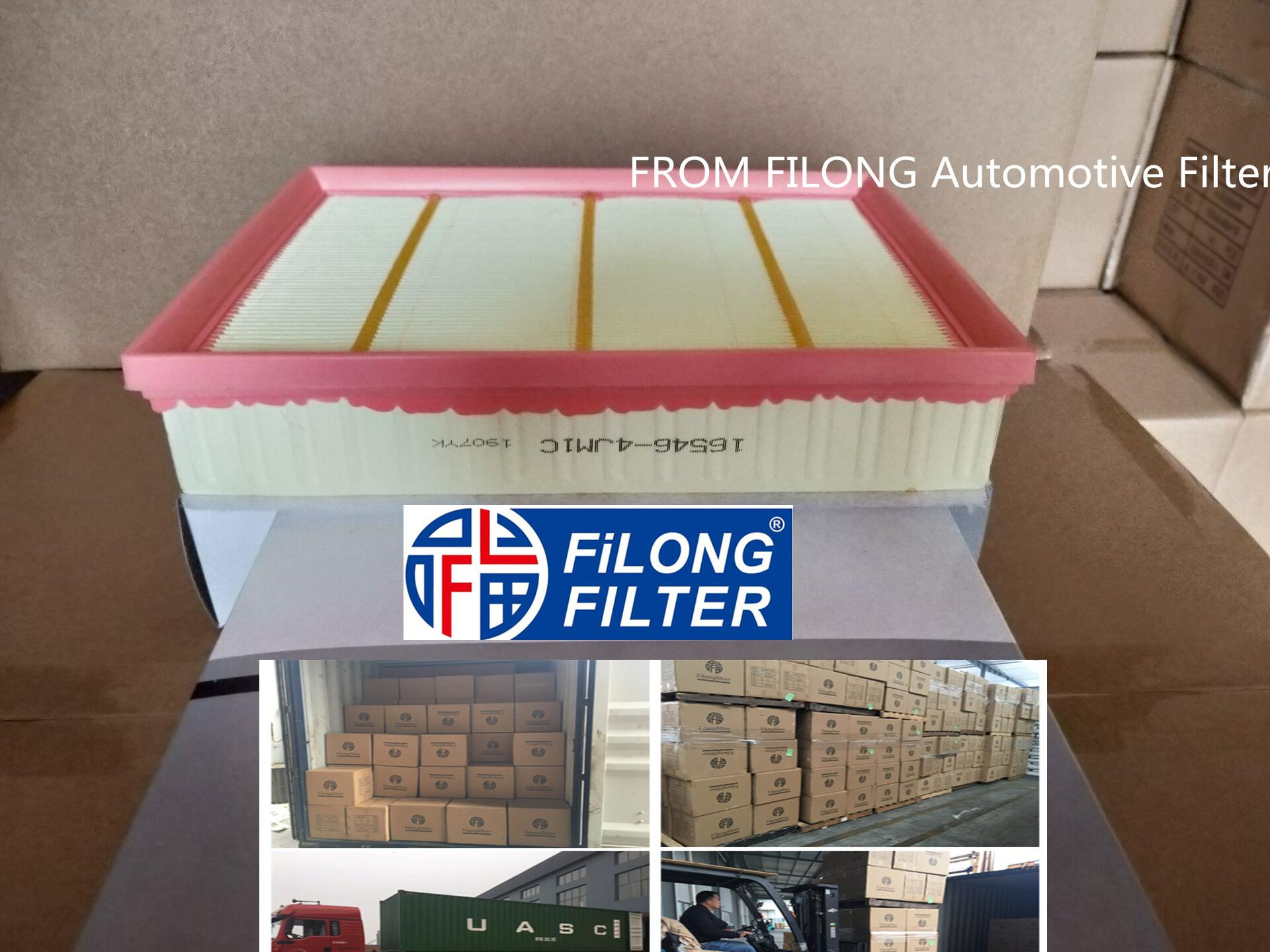 FILONG manufacturer Air Filter FA-9015 16546-4JM1A 165464JM1A 16546-4JM1C 165464JM1C  C21001 16546-4KV0A  165464KV0A for NISSAN Navara NP300