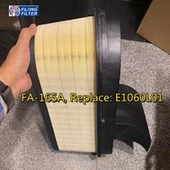 FILONG Honeycomb filter  Manufacturer for OEM Number: MERCEDES-BENZ0040946904, A0040946904, A0040949104 Reference Number: FILONGFA165 HENGSTE1060L01 JS FilterA0914 MANNCP50002   Product Parameters: Length/DiameterWide / Inner diameterHeight 491209312/198 Description and application: MERCEDES-BENZ » ACTROS MP4 , 1824 BlueTec