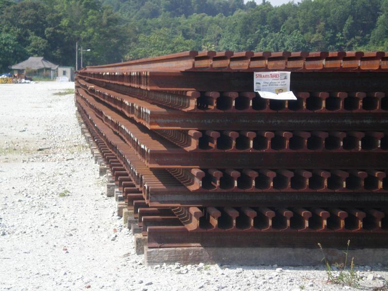 used rail scrap 1