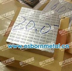 冲压模具专用硬质合金板KD20