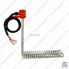 L-shape Spiral Teflon Immersion Heater