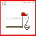 L-shaped Single Tube Metal Electric Immersion Heater