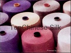 silk spun dyed