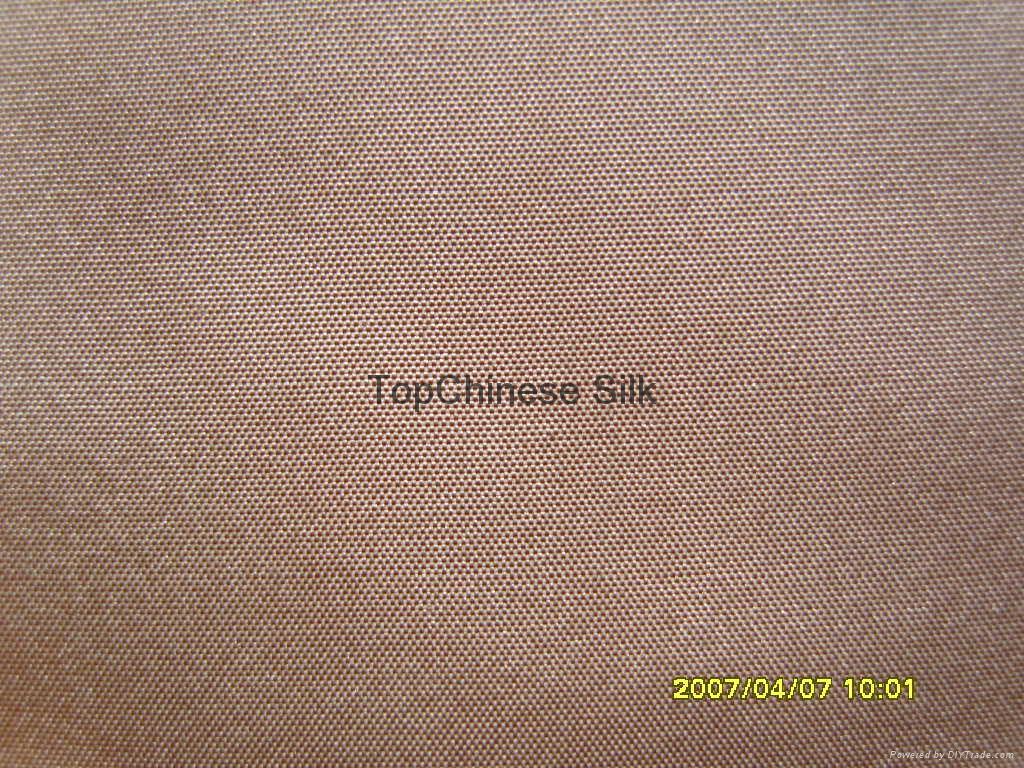 Yarn-dyed silk taffetta  2