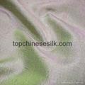 色织真丝双宫绸 2