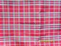 yarn-dyed silk fabric checks 5