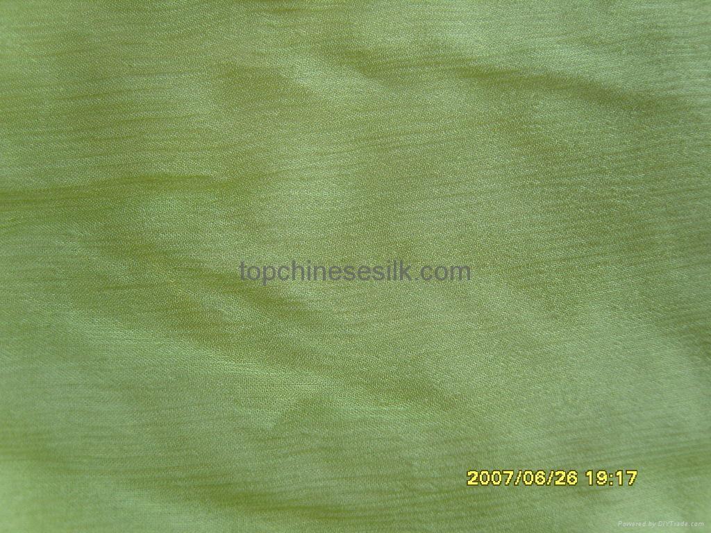 Silk krincle georgette dyed 10152W 1