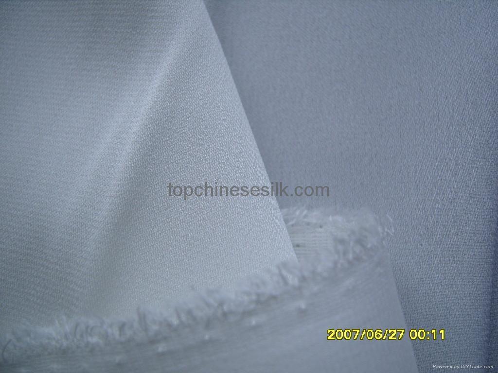 Lycra silk reversible georgette 1