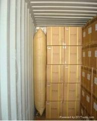 桂林集装箱填充缓冲牛皮纸充气袋