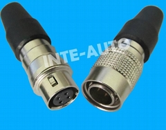 Electrical Plug ,cross hirose connector P/N HR10A-10P-10
