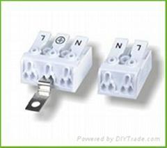 免螺丝式接线端子DA902-10.00MM间距