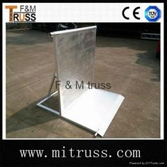 Aluminum crowd barrier for sale