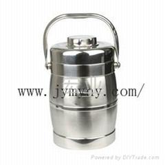 不鏽鋼無磁鼓型保溫提鍋1.6L-2.0L