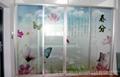 玻璃移门uv平板打印机  1