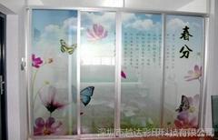 玻璃移门uv平板打印机