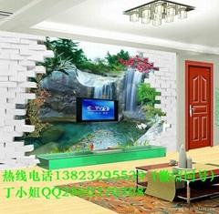 瓷砖背景墙印花机