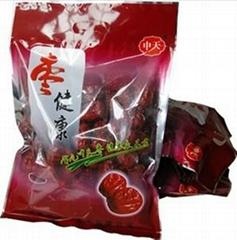 中天红袋枣健康