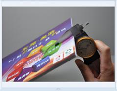 UV printing thickening PP card PET sheet PVC card
