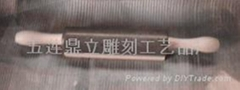 天然石制擀面杖
