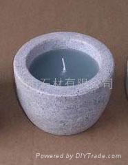 石制蜡烛台