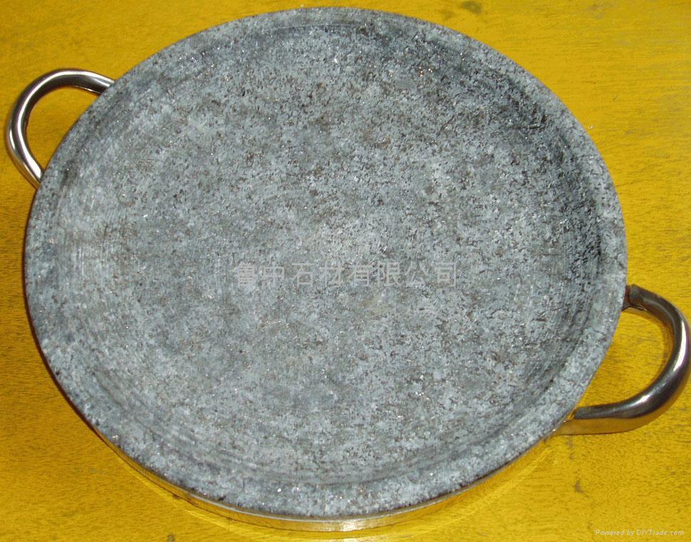 天然石烤盘 石碗