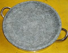 天然石烤盤 石碗