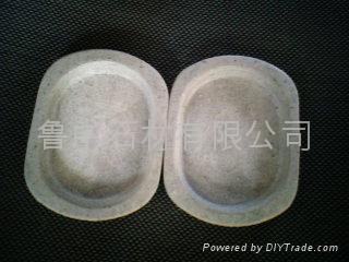 天然石制肥皂碟/盒
