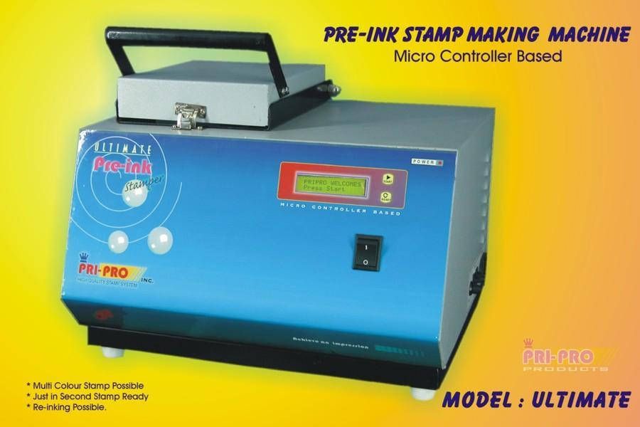 Pre Ink Stamp Machine India Manufacturer Product