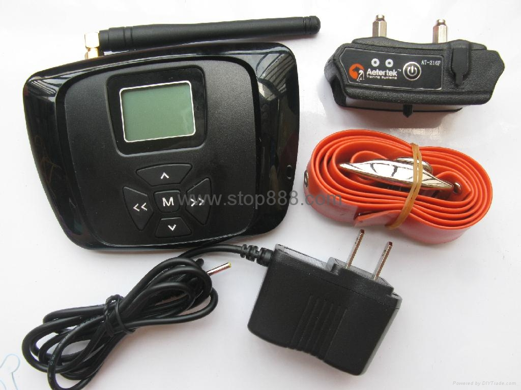 AT-216F Dog/Cat Wireless Fence with LCD display rechargeable and waterproof 4