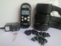 300M LCD display 4Levels shocks and Virbration waterproof dog trainer for 3dogs 2