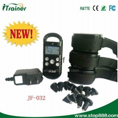 300M LCD display 4Levels shocks and Virbration waterproof dog trainer for 3dogs
