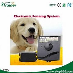 最新款寵物用品防水項圈寵物狗電子圍欄