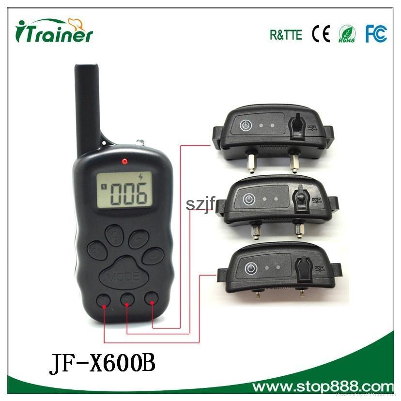 JF- X600B Remote pet training collar 3