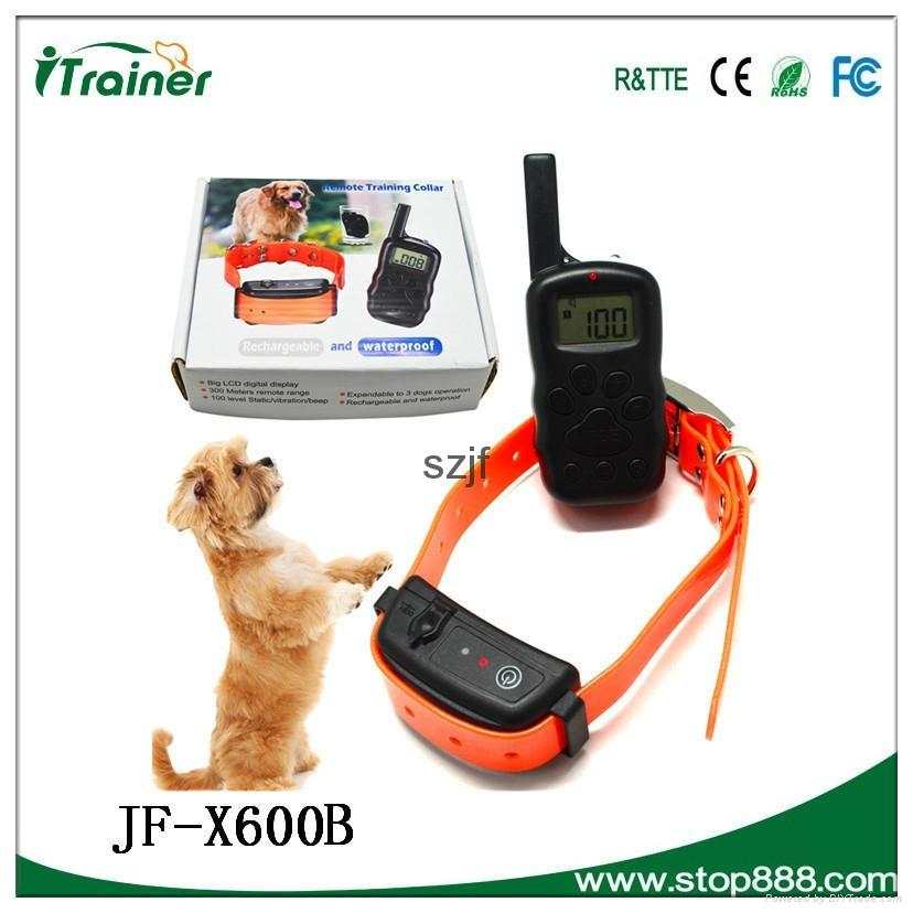 JF- X600B Remote pet training collar 1